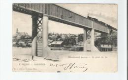GRODNO  1 (HRODNA BELARUSSIE)  LE PONT DU FER (TRAIN CIRCULANT) 1905 - Belarus