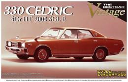 330 Cedric 4Dr HT 200 SGL-E 1/24 (  Aoshima ) - Cars