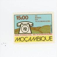 Mozambique-1980-Année Mondiale Des Télécommunications-YT 751***MNH - Télécom