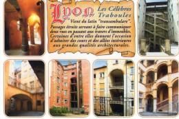69 - LYON - Les Célèbres Traboules - 6 Vues - Lyon
