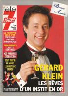Télé 7 Jours N° 1753 - Semaine Du 1 Au 7 Janvier 1994 - Gérard Klein, Eddy Mitchell, Nathalie Simon, Tintin & Spirou - 1950 - Nu