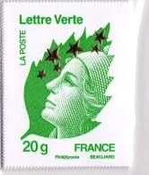 Type De Marianne De L´europe étoile D´orMaxi Marianne Format 60x78 - Documentos Del Correo