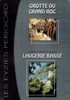 Ancien Dépliant Grotte Du Grand Roc Abris Préhistoriques De Laugerie Basse 2003 - Dépliants Touristiques