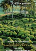 Ancien Dépliant Jardins Suspendus De Marqueyssac (Périgord, Dordogne) Vers 2000 - Dépliants Touristiques