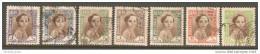 Iraq 1942 LOT Of 7 Different Values - Baby King Faisal II - Iraq