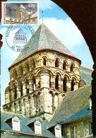 FRANCE. N°2462 Sur Carte Maximum De 1976. Abbatiale De Redon. - Abbazie E Monasteri