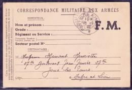 Guerre 1939-1945 - Lettre - WW II