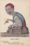 Algérie - Enfant - Métier - Cireur Chaussures -  Dessinateur Chagny à Alger - Kinderen