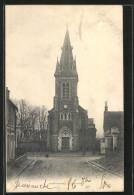 CPA Saint-Michel-sur-Orge, L'Eglise - Saint Michel Sur Orge