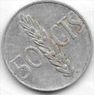 50 Centimos 1966 - [ 5] 1949-… : Royaume