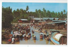 THAILAND - FLOATING MARKET - EDIT BY PHORN THIP - 1970s - STAMPS  ( 183 ) - Thaïlande