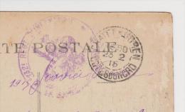 MILITARIA 1914 1918 CHATELAUDREN 132 ème RÉGIMENT D'INFANTERIE INTÉRIEUR DE LA CHAPELLE - 23/2/1915 - ZOOM 3 Scans - - Reggimenti