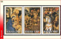 Burundi 1014/16**   Tableaux  MNH