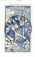 Heimat BL NIEDERDORF 31.12.1900 Auf 25Rp UPU #79 - 1882-1906 Wappen, Stehende Helvetia & UPU