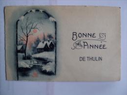 BONNE ANNEE De THULIN  -  Env.1925 - Hensies