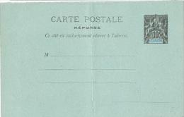 L-COL12 - REUNION Entier Postal 10 Cts Groupe + Carte Réponse - Other