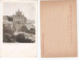 GAETA ( LATINA ) TEMPIO DI SAN FRANCESCO - EDIZIONE RICHTER & CO. 1900s - Latina