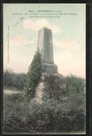 CPA Bléneau, Monument Eleve à L'endroit òu S'est Termine La Bataille De Bléneau Entre Turenne Et Condé - France