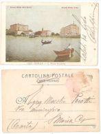 VENEZIA - LIDO - GRAND HOTEL DES BAINS / HOTEL LIDO - S. MARIA ELISABETTA - 1900 - Venezia (Venice)