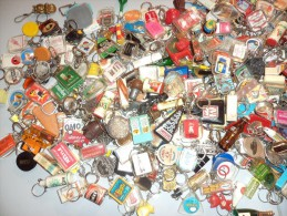 Collection De 419 Porte-clefs - Lot Nature Vendu Tel Quel... - Key-rings