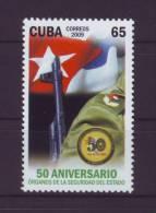2009.36 CUBA 2009 COMPLETE SET MNH SECRET SERVICE SPIES. 50 ANIV SEGURIDAD DEL ESTADO. ESPIAS. G2. - Cuba