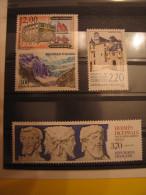YT **   2545 à 2548  SERIE TOURISTIQUE   NEUFS ET SANS CHARNIERES - France