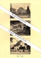 Photographien / Ansichten , 1925 , Saint-Légier-La Chiésaz , Burier , Corsier , Prospekt , Architektur , Fotos !!! - VD Waadt
