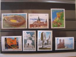 YT **   3470,3478,3492,3496,3497,3499 Et 3506   SERIE TOURISTIQUE   NEUFS ET SANS CHARNIERES - France
