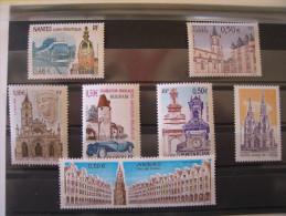 YT **   3552,3576,3579,3580,3586,3605 Et 3608   SERIE TOURISTIQUE   NEUFS ET SANS CHARNIERES - France
