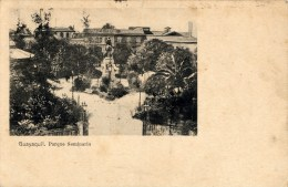 Guayaquil, Parque Seminario - Ecuador