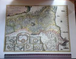 Carte Géographique Du Roussillon -Villefranche-Perpignan-Mont-Louis-Bellegarde-Collioure-Puigcerda-Rosas - Autres Collections
