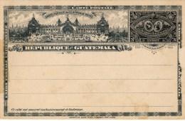 Carte Postale Reponse Payée, 3 Centavos - Guatemala