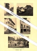 Photographien / Ansichten , 1925 , Grandvaux , Cully , Villette / Lavaux , Lutry , Prospekt , Architektur , Fotos !!! - VD Waadt