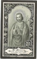 173.FELIX MOONS - SCHEPENE DER GEMEENTE BEVERLOO - BEVERLOO 1823/1895 - Imágenes Religiosas