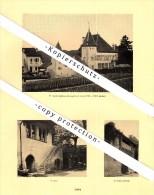 Photographien / Ansichten , 1925 , Lutry , Lausanne , Prospekt , Architektur , Fotos !!! - VD Waadt