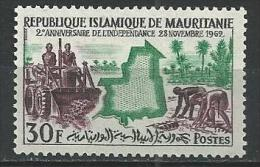 "Mauritanie YT 162 "" Anniversaire Indépendance "" 1962 Neuf** - Mauritania (1960-...)"