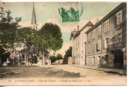 69. La Demi Lune. Place De L'eglise. Chemin De Saint Just - France