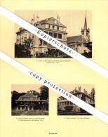 Photographien / Ansichten , 1925 , Lausanne , Campagne De Mon-Repos , Villa , Prospekt , Architektur , Fotos !!! - VD Waadt