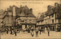 29 - QUIMPER - Marché - - Quimper