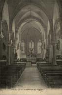 01 - VILLIEU - Intérieur église - France