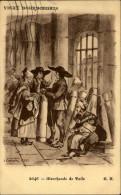 03 - VIEUX BOURBONNAIS - Marchand De Toile - Illustrée Par LARROCHE - France