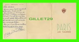 PROGRAMMES - PROGRAM - PARIS LES TUILERIES - - Programmes