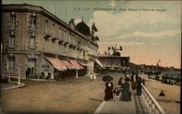 06 - NICE - Plage Dufayel Et Palais Des Régates - Cafés, Hôtels, Restaurants