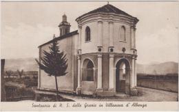 AK - VILLANOVA D`ALBENGA - Chiesetta-santuario Di Nostra Signora Delle Grazie 40er - Savona