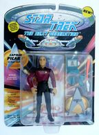 FIGURINE SOUS BLISTER STAR TREK Playmates 1992 THE NEXT GENERATION PICARD - Star Trek