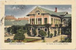 MONDORF LES BAINS  (cpa- Luxembourg)  Le Casino Et La Petite Piscine - Mondorf-les-Bains