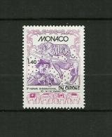 """MONACO   1981    N° 1298    """"Festival Du Cirque à Monaco ( Composition ) """"      NEUF - Unused Stamps"""