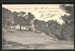 CPA Bagnols-sur-Céze, Amphithéâtre Du Mont Cotton - France