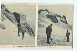 DAUPHINE - Massif Du PELVOUX - Ascension De La MEIJE En 2 Vues - TBE - 2 Scans - France