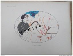 ILLUSTRATION DE MICH A L´AUTOMOBILE 1907 - DIMENSIONS 30X40 CMS - M. BARON DE CARTERS - Prenten & Gravure